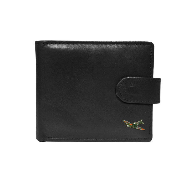 Quality black leather Spitfire wallet